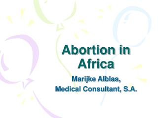 Abortion in Africa
