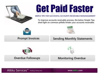 Get Paid Faster - Accounts Receivable Management