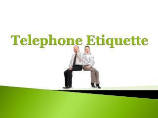 ppt telephone etiquette powerpoint presentation id 6031311. Black Bedroom Furniture Sets. Home Design Ideas