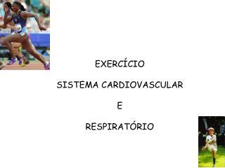 EXERCÍCIO SISTEMA CARDIOVASCULAR E  RESPIRATÓRIO