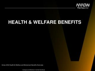 HEALTH & WELFARE BENEFITS