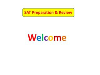 SAT Preparation & Review