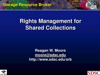 Rights Management for Shared Collections
