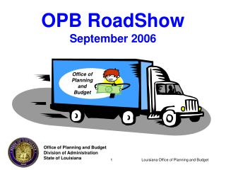 OPB RoadShow September 2006
