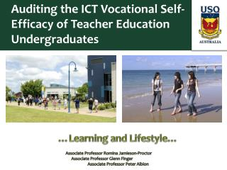 Auditing the ICT Vocational Self-Efficacy of Teacher Education Undergraduates
