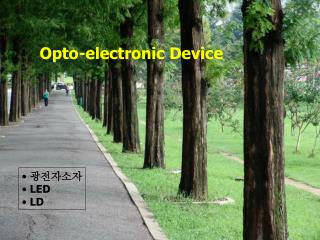 Opto-electronic Device