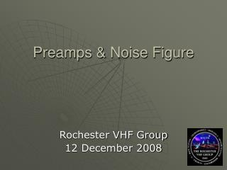 Preamps & Noise Figure