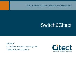 Switch2Citect