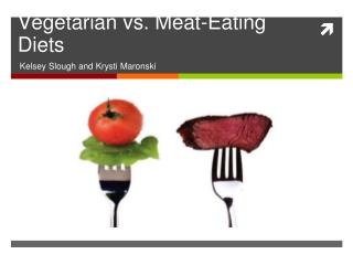 Vegetarian vs. Meat-Eating Diets
