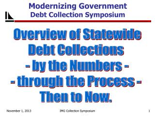 Modernizing Government  Debt Collection Symposium