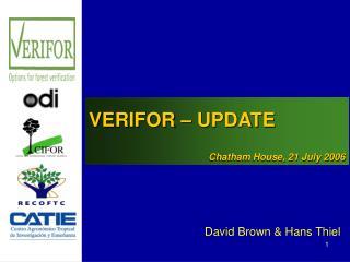 David Brown & Hans Thiel
