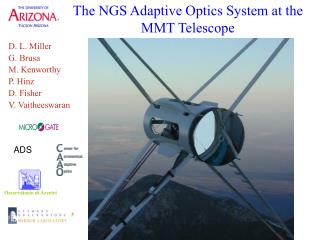 The NGS Adaptive Optics System at the MMT Telescope