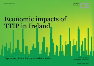 Economic impacts of  TTIP  in Ireland