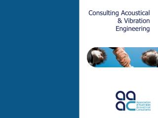 Consulting Acoustical & Vibration Engineering