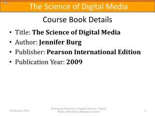Course Book Details