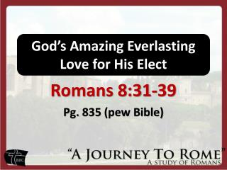 God's Amazing Everlasting Love for His Elect