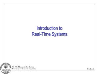 Introduction to Real-Time Systems