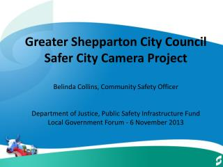 Snapshot of Greater Shepparton