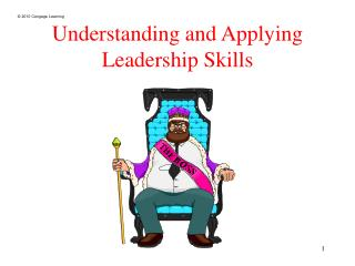 Understanding and Applying Leadership Skills