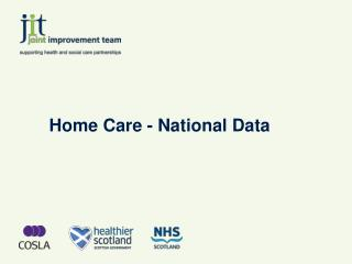 Home Care - National Data