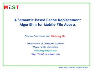 A Semantic-based Cache Replacement Algorithm for Mobile File Access