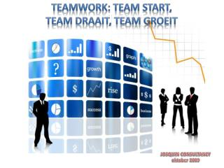TEAMWORK: TEAM START,  TEAM DRAAIT, TEAM GROEIT
