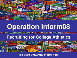 Recruiting for College Athletics