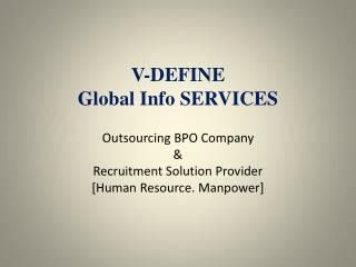 V-DEFINE Global Info SERVICES