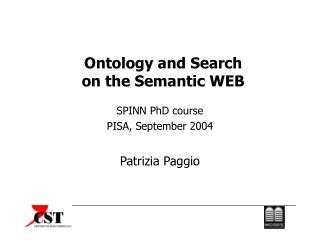 Ontology and Search on the Semantic WEB