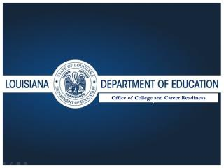 Office of College and Career Readiness