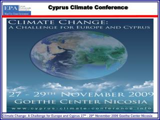 Cyprus Climate Conference