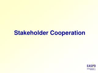Stakeholder Cooperation