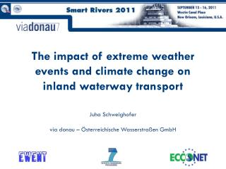 The impact of extreme weather events and climate change on inland waterway transport