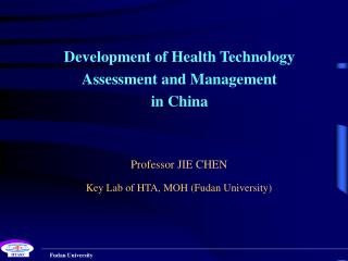 Development of Health Technology Assessment and Management in China
