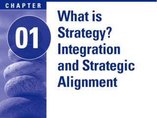 1.2 Defining strategy