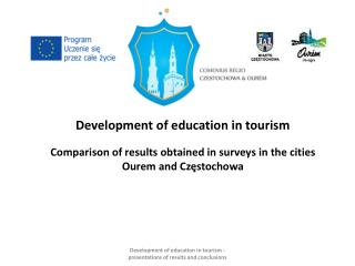 Development of education in tourism