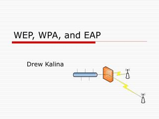 WEP, WPA, and EAP