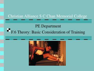 Christian Alliance S C Chan Memorial College