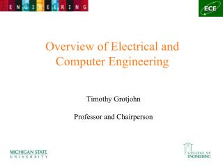Overview of Electrical and Computer Engineering