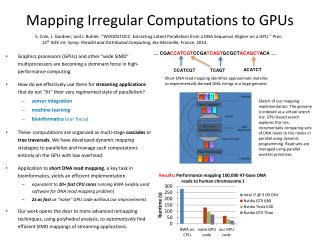 Mapping Irregular  Computations  to GPUs
