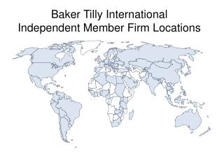Baker Tilly International  Independent Member Firm Locations