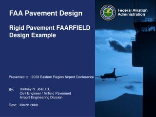 FAA Pavement Design