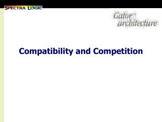 Compatibility and Competition