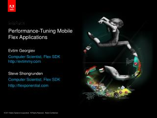 Performance-Tuning Mobile  Flex Applications