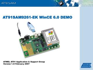 AT91SAM9261-EK WinCE 6.0 DEMO