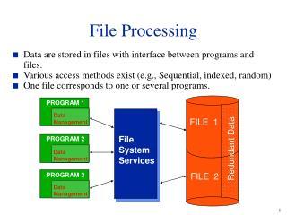 File Processing