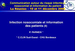 Infection nosocomiale et information des patients  (II)