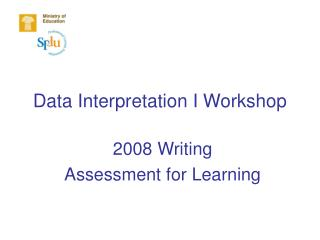 Data Interpretation I Workshop