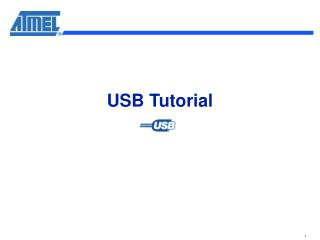 USB Tutorial