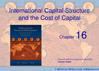 International Capital Structure and the Cost of Capital
